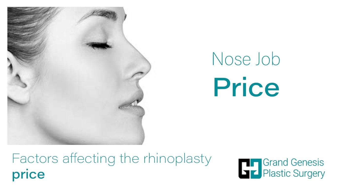 nose job price factors