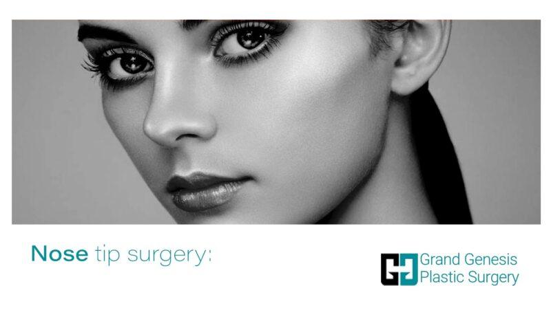 Nose tip surgery